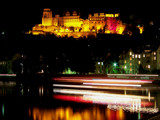 Reflections on the Neckar River by G8R, Photography->Castles/Ruins gallery
