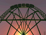 Hypercoaster by Jhihmoac, Computer->3D gallery