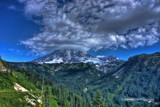 The Queen Wears A Big Foofy Cloud by DigiCamMan, photography->mountains gallery