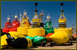 Buoys by corngrowth, Photography->Lighthouses gallery