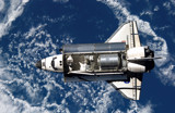 STS-114 Shuttle Discovery as Seen From The ISS by madtay, space gallery