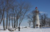 Frozen Marblehead Lighthouse by Jimbobedsel, photography->lighthouses gallery