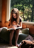 Reading is her Love! by verenabloo, photography->people gallery