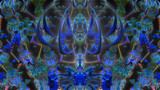 A Pretty In Blue For Bloo by Joanie, abstract->fractal gallery