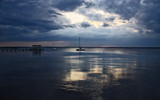 As the Clouds Move In by tweir, Photography->Shorelines gallery
