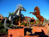Metal Horses by Delightly, photography->sculpture gallery