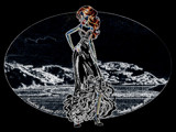 Lady of the Sea by Neass, computer->landscape gallery