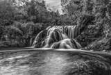 Interstate Falls - Monochrome by Mitsubishiman, photography->waterfalls gallery