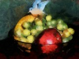 Fruit of Life Painted by mesmerized, illustrations->traditional gallery
