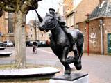 Middelburg (15), De Ringrijder by corngrowth, Photography->Sculpture gallery