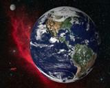Wonderglobe on California Nebula starfield by williamholbert, Computer->Space gallery