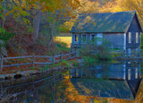 brewster gristmill reflected by solita17, Photography->Architecture gallery