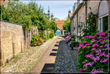 Shadowed Medieval Cobblestone Alley by corngrowth, photography->architecture gallery