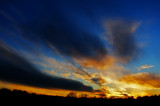 Cold Sunset by SatCom, Photography->Sunset/Rise gallery
