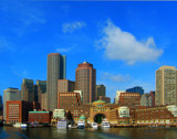 Boston Blue Sky by dgthomas, Photography->City gallery