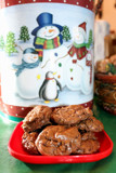 Warm Chocolate Cookies on a Snowy Day by Pistos, photography->still life gallery