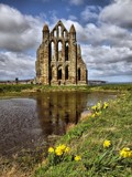 Whitby Abbey by Dunstickin, photography->castles/ruins gallery