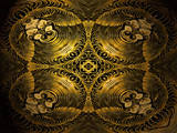 Golden Monkeys by CK1215, Abstract->Fractal gallery