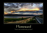 Homeward Poster by LynEve, photography->landscape gallery