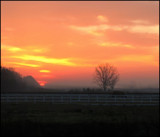 Country Sunrise by foofoo, Photography->Sunset/Rise gallery