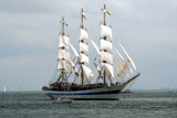 Zeeland Maritime (31), Mir sails outward bound by corngrowth, Photography->Boats gallery