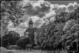 Threatening Sky Over The Eastern Church by corngrowth, contests->b/w challenge gallery