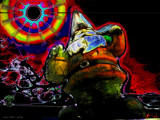 The Gnome Knows All by Xetxuna, abstract gallery