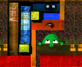 Life on the shelf ( version 1 ) by Trevorcardigan, Illustrations->Traditional gallery