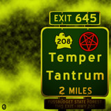 AU Road Signs - Exit 645 by Jhihmoac, illustrations->digital gallery