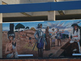 Mural at Santa Ana Bus Station by kimcande, Illustrations->Traditional gallery