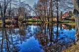 Pond reflections by Inkeri, photography->gardens gallery
