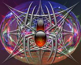 well spider by cro5point, abstract gallery