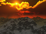 Fire in the Sky by TokenArt, Computer->Landscape gallery