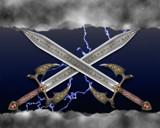 rune swords by cro5point, Illustrations->Digital gallery