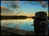 Harbour at Sunset by LynEve, Photography->Landscape gallery