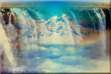 Abstract  Melting Mountain Snow by RenieRenee, abstract->Surrealism gallery