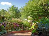 Footpath Through the Garden by trixxie17, photography->gardens gallery