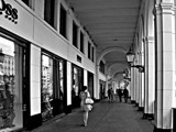 Shopping Arcade by Ramad, contests->b/w challenge gallery