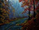 FOREST PATH by nuke88, illustrations->traditional gallery