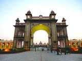 Mysore Palace entrance by deepakkrishnan, photography->architecture gallery