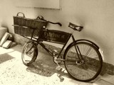 Nostalgia - The Baker's Bicycle by LynEve, Photography->Transportation gallery