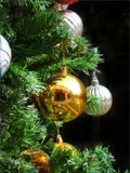 Golden ball by Ravindra077, Holidays->Christmas gallery