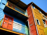 Caminito Balconies by dpross, Photography->Architecture gallery