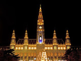 Vienna by night - Town Hall [revised] by boremachine, Photography->Manipulation gallery