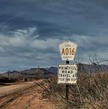 My Favorite Road Sign by DesertDenizen, photography->landscape gallery