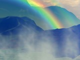 Tropical Rainbow by SamGerdt, computer->landscape gallery