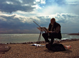 Zeeland Coast (08), Master at Work by corngrowth, Photography->Shorelines gallery
