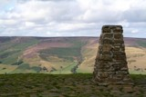Mam Tor Summit - Trig Point by fogz, Photography->Landscape gallery