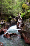 GNP-The Roar of Avalanche Gorge by Nikoneer, photography->waterfalls gallery