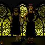 Violette & U1iiA by Jhihmoac, illustrations->digital gallery